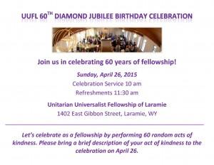 UUFL 60th Celebration